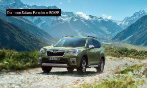 Der neue Subaru Forester e-BOXER