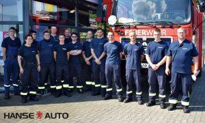 Neuenkirchener Feuerwehr informierte sich über E-Fahrzeuge