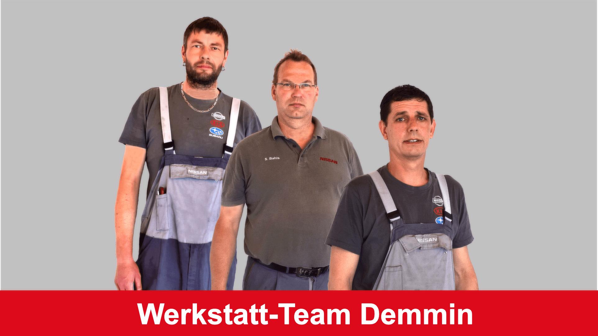 Werkstatt-Team Demmin