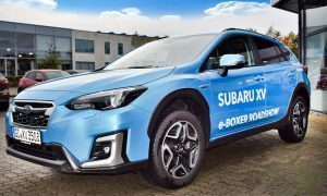 Kompaktes SUV mit Mild Hybrid Antrieb der Subaru XV Boxer
