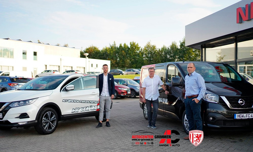 Partner & Vereine ist unserer Autohausgruppe Autocenter Grimmen Startbild
