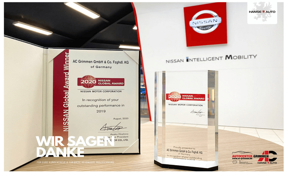 Nissan Global Award WEB